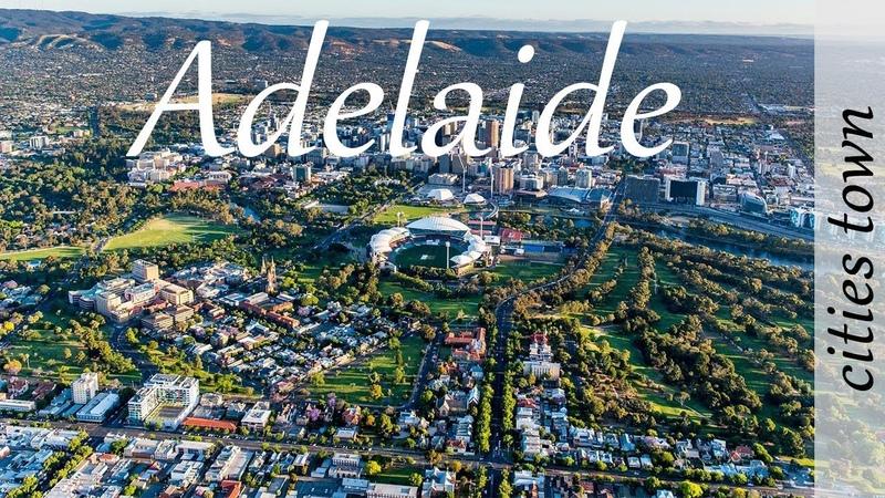 City of Australia Adelaide Город Австралии Аделаида