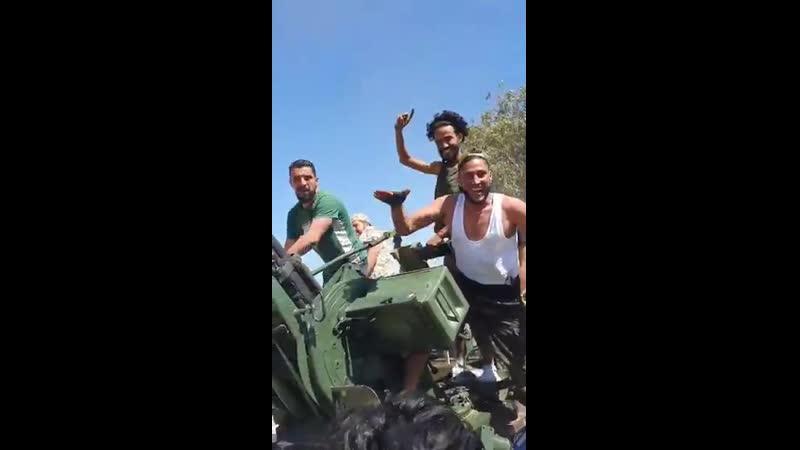 Первая ганима сил аль-Вефак в битве за авиабазу аль-Ваттия: гантрак ЗУ-2-23