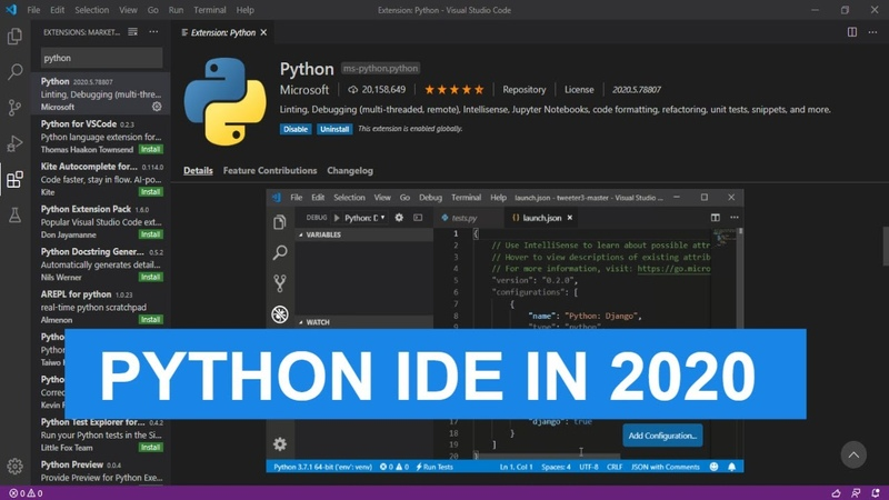 Best Python IDE's in 2020 Getting Started