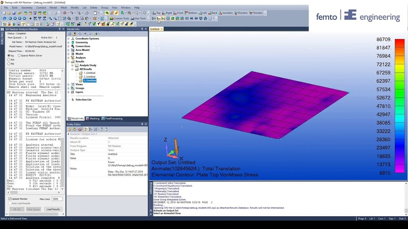 How to debug your Femap Model PART 5 Bailout function 3