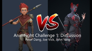 Animating a Fight Scene: AnimFight Challenge 1 Discussion w/ Peter Dang, Joe Vick, and John Yang