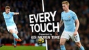 EVERY TOUCH: DE BRUYNE V LEICESTER | City 5-1 Leicester 2017/18