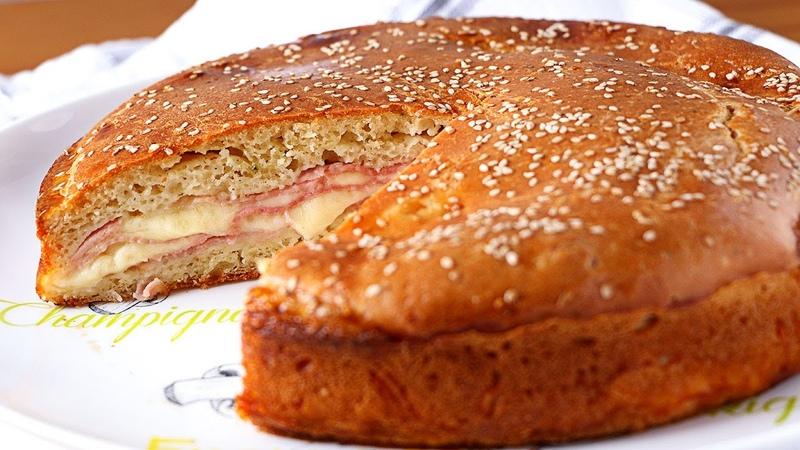 Empanada de jamón y queso más fácil y rica del MUNDO Recetas rápidas y fáciles