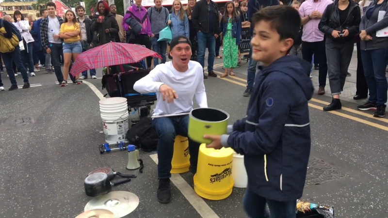 The Bucket Boy Matthew Pretty Amazing Drumming Show Edinburgh Fringe Festival 2019
