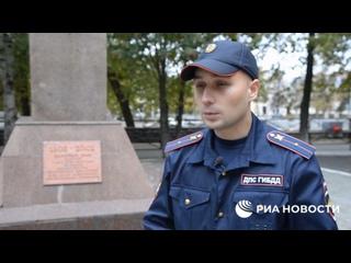 Пермь. Младший лейтенант полиции Константин Калини...
