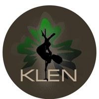 Логотип KLEN - Школа Pole Dance, фитнеса, Тюмень