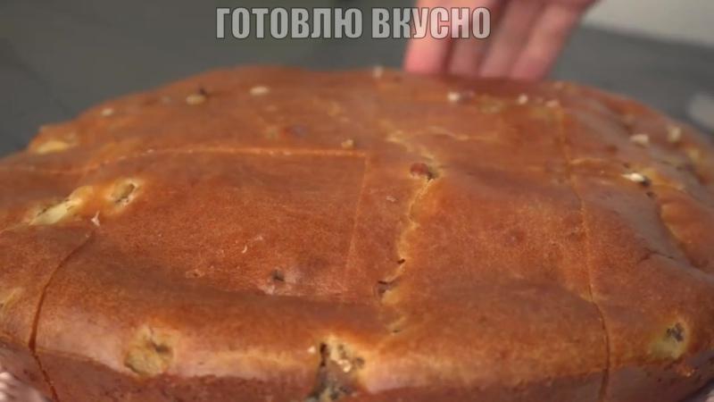 Рыбный пирог по Советски