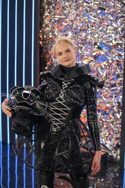 Светлана Хоркина прокомментировала шоу-проект «Маска»: «После спорта мне ни одно жюри не кажется строгим»И это правда. Черная пантера была