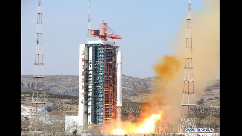 "China News Service 中国新闻社 中国成功发射 吉林一号""宽幅01星等4颗卫星"