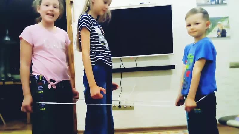 Rubber band rope