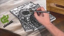 Drawing book cover 1001 tips easy sunflower drawings