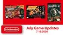 NES Super NES - July Game Updates - Nintendo Switch Online