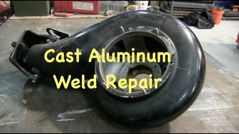 Tig Welding Cast Aluminum Outboard Jet Pump