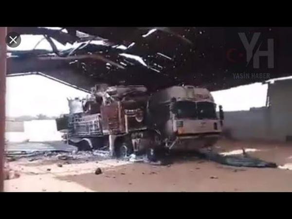 Позор РФ и ХАФТАРА в Ливии с потерей вертолетов и ЗРПК а также удар ЦАХАЛА по базе САА с С 400 и РЭБ