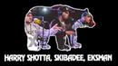 Harry Shotta, Skibadee, Eksman and DJ Mollie Collins @ 1Xtra's Xmas Party