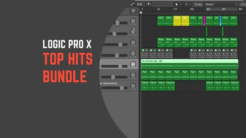 Top Hits Bundle Logic Pro X Templates Dynoro Meduza Gorgon City