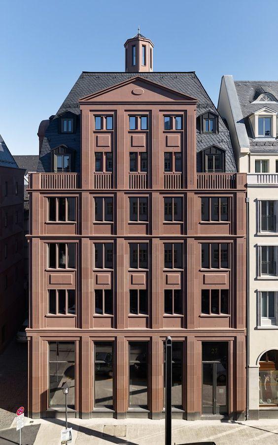 Жилой дом во Франкфурте