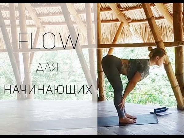 Йога для Начинающих Базовая практика Yoga with Dasha from Russia