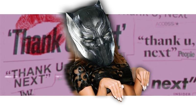 Black Panther Sings thank u next by Ariana Grande Avengers Parody
