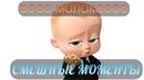 смешные моменты мультфильма Босс-молокосос (2017)[TFM]
