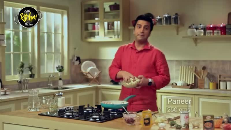 Catch Kitchen Fusion Recipe Shahi Paneer Pie by Chef Kunal Kapur