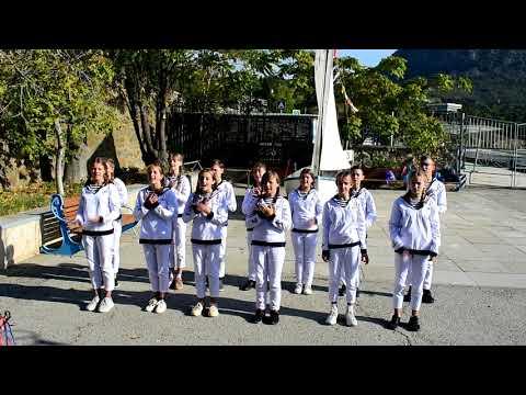 Песня юнг Кипарисного на соревнованиях 13 смены 2020 года.