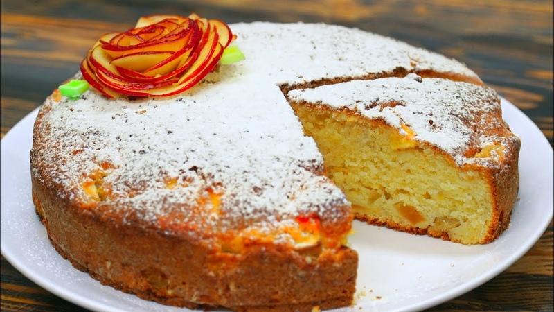 До чего же вкусный и мягкий этот пирог Из самых простых продуктов Кулинарим с Таней