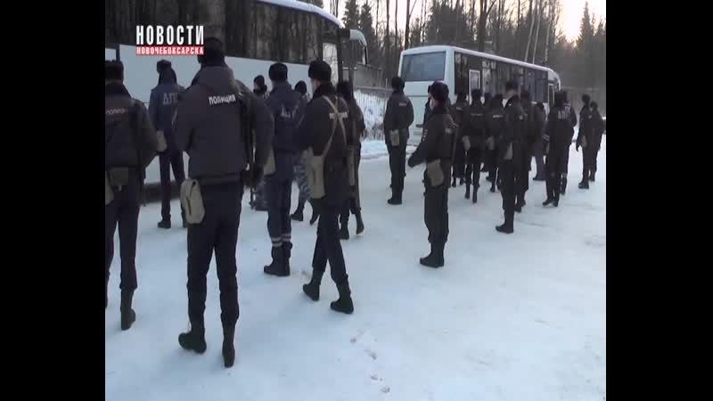 Отряд полицейских Чувашии выехал в служебную командировку на Северный Кавказ