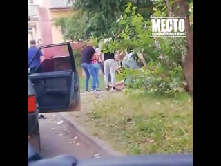 Пьяная драка в Чепецке