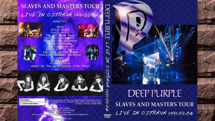 Deep Purple - Slaves And Masters Tour Ostrava 1991
