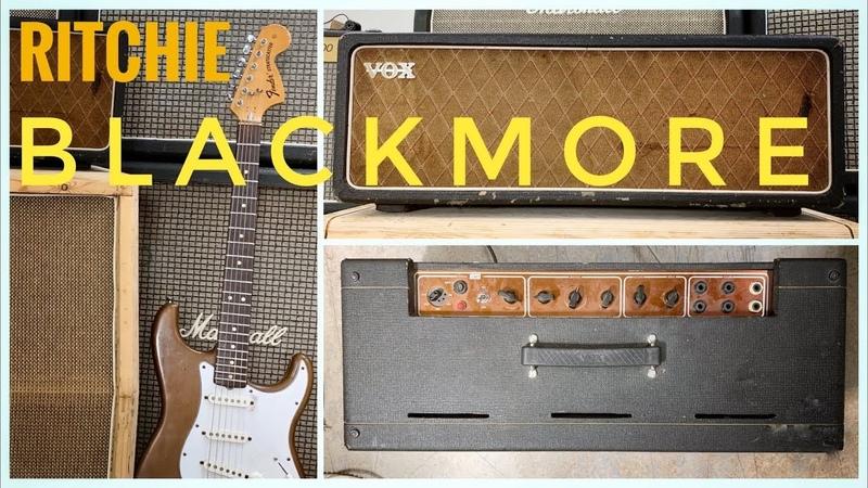 Vox AC30 Treble Booster = Ritchie Blackmore