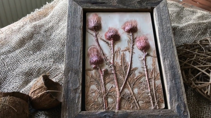 Rustic art by KLEVER homedecor DIY
