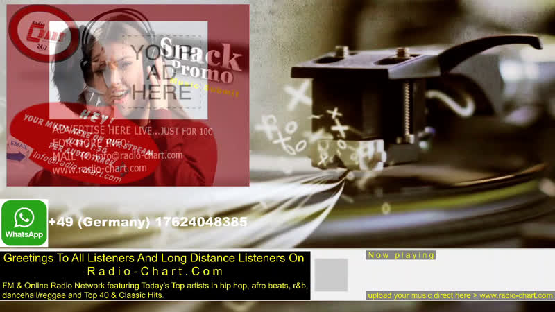 RADIO CHART•24 7 Live Radio For promo use only