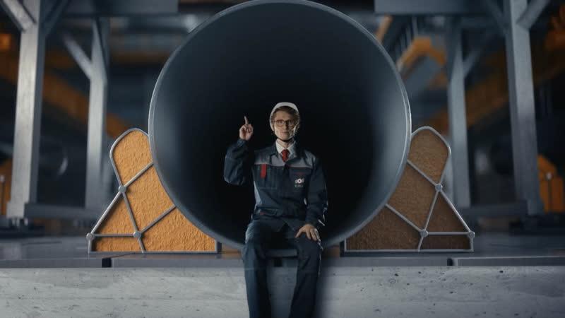 Трейлер фильма о производстве труб большого диаметра ОМК для крупнейших проектов 💪📹