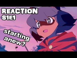 RACOON GIRL IN ANIMAL CITY!! | BNA: Brand New Animal (ビー・エヌ・エー) Episode 1 reaction