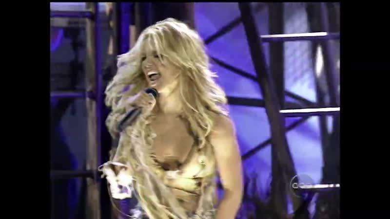 Britney Spears Stronger AMAs American Music Awards 2001 Digital Restore