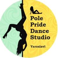 Логотип Pole dance. Танец на пилоне. Ярославль