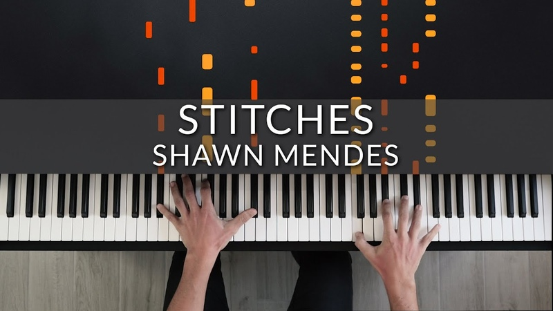 Shawn Mendes Stitches Tutorial of my Piano Cover