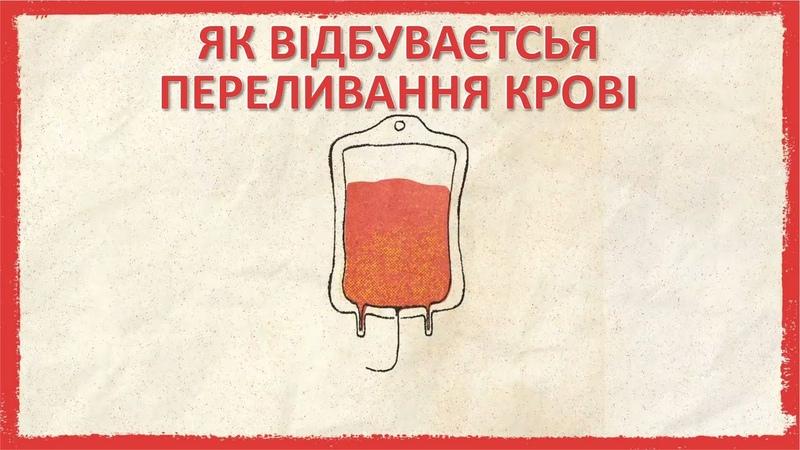 Як відбувається переливання крові [TED-Ed]