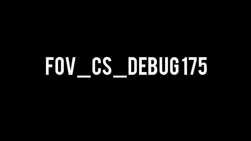 FOV CS DEBUG 175