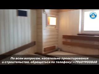 Строительство бани под ключ в Нижнем Новгороде. Готовый объект.