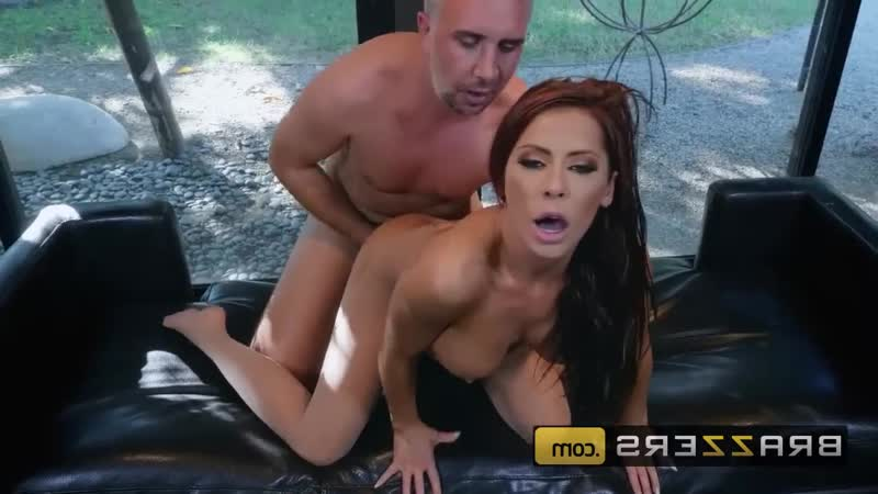 BRAZZERS Madison Ivy gets oiled up in her nylons Шкура Tube, Brazzers, HD1080, секс, POVD,