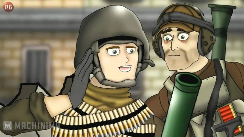 Друзья по Battlefield Миномёты Рус