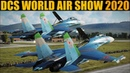 DCS WORLD Community Air Show 2020