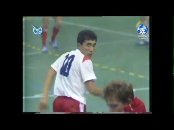 Talant Dujshebaev Талант Дуйшебаев World Junior Handball Champion 1989