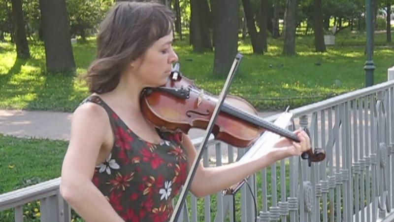 Марина Корсакова Аллилуйя violin cover