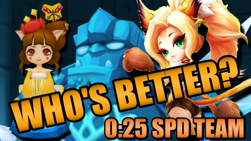 GB10 SPD Team Explained Arang or Naomi for DMG Early Mid Game Summoners War