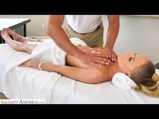 Emma Hix - Emma Hix Gets A Massage And Cock [Blowjob, Cum In Mouth, Deep throat, Facial, Oil, POV]