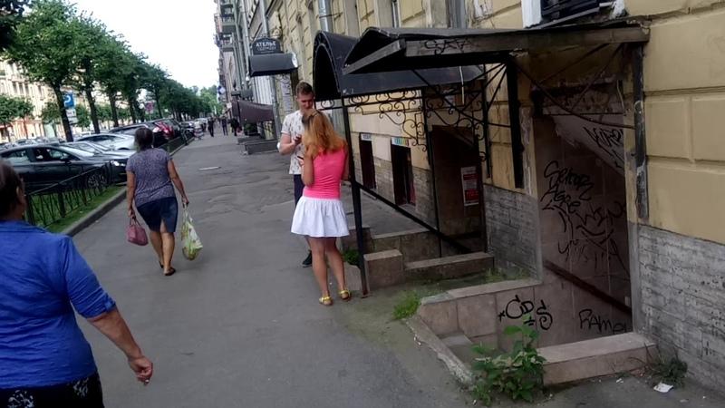 Улица Чайковского. Санкт-Петербург