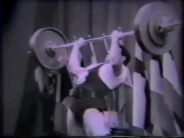 Trofim Lomakin Wins 1958 World Weightlifting Championships Light Heavyweights